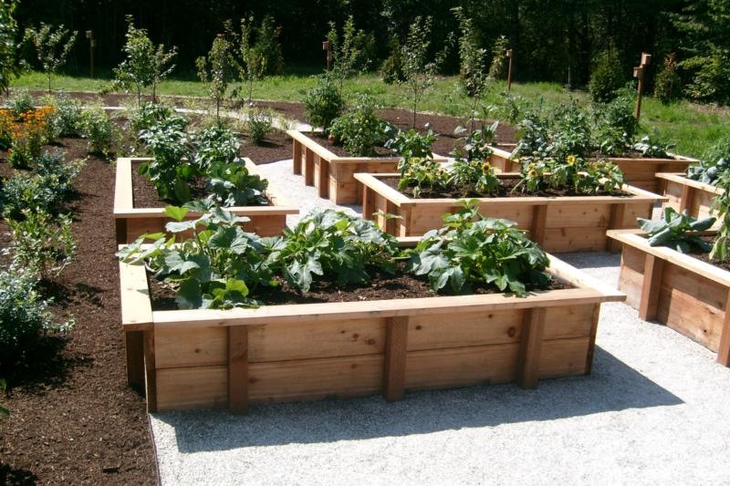 Raised Vegetable Garden Ideas And Designs raised vegetable garden design ideas }| raised bed garden plans